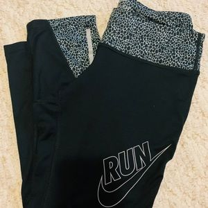 Nike running tights capris